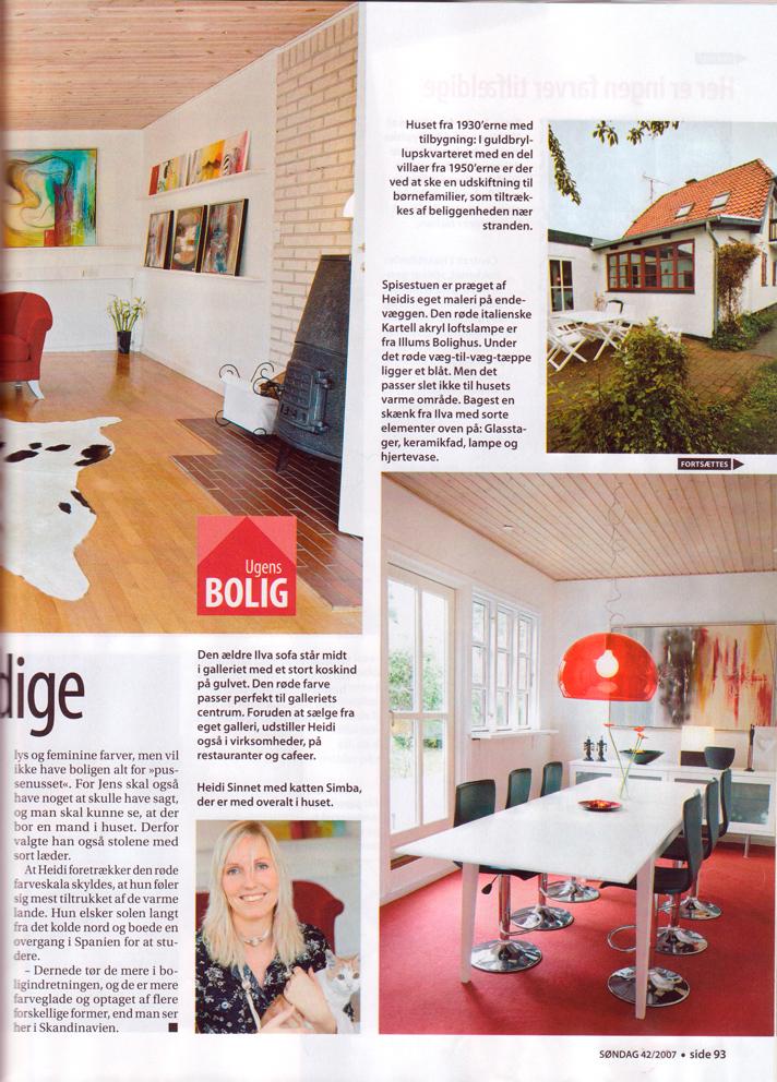 Artikel i Ugebladet Søndag
