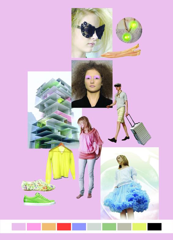 Collage plakat til modemessen Bella Center Stylize