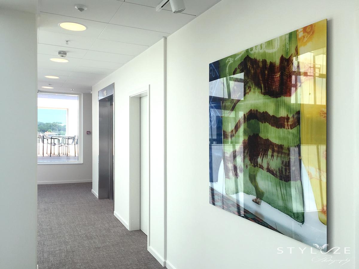 Fotokunst Danske Bank Stylize