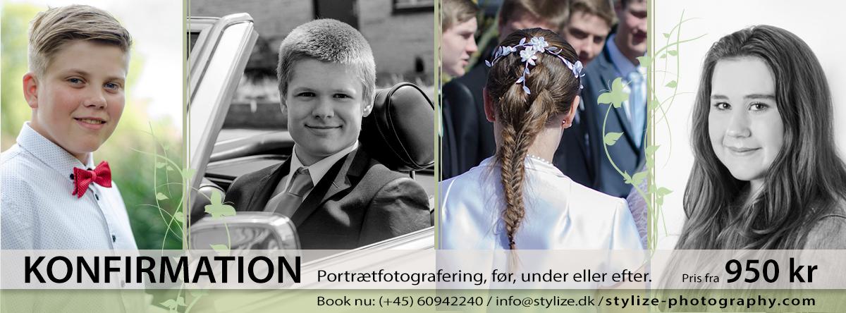 Konfirmationsfotografering og konfirmandportræt