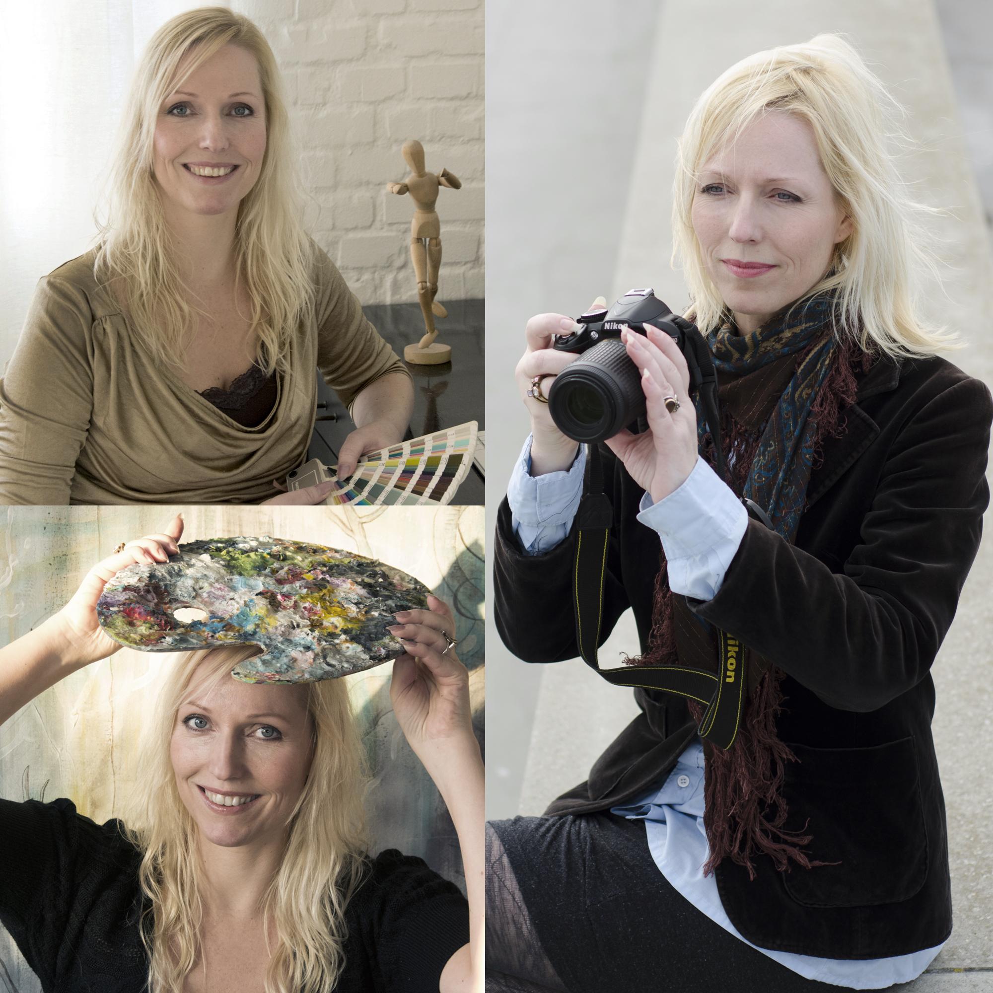 Heidi Sinnet - grafiker, fotograf, feng shui konsulent og kunstner