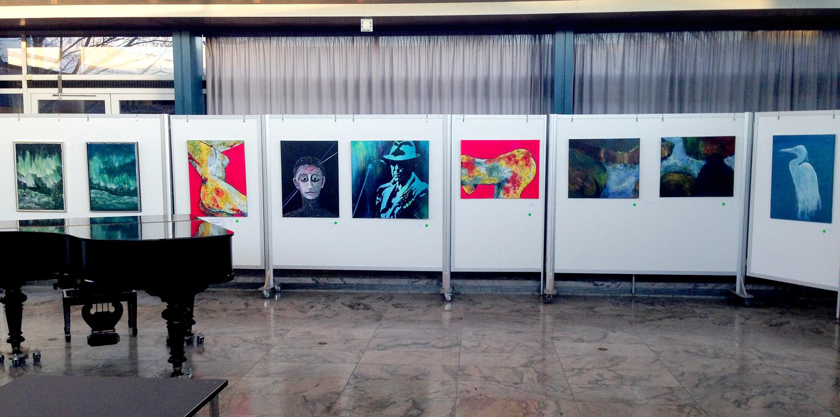 Heidi Sinnet udstillinger på Åben udstilling på Rødovre Bibliotek