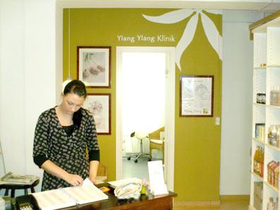 Indretning Ylang Ylang klinik