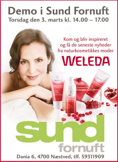 Annonce Sund Fornuft Weleda Stylize