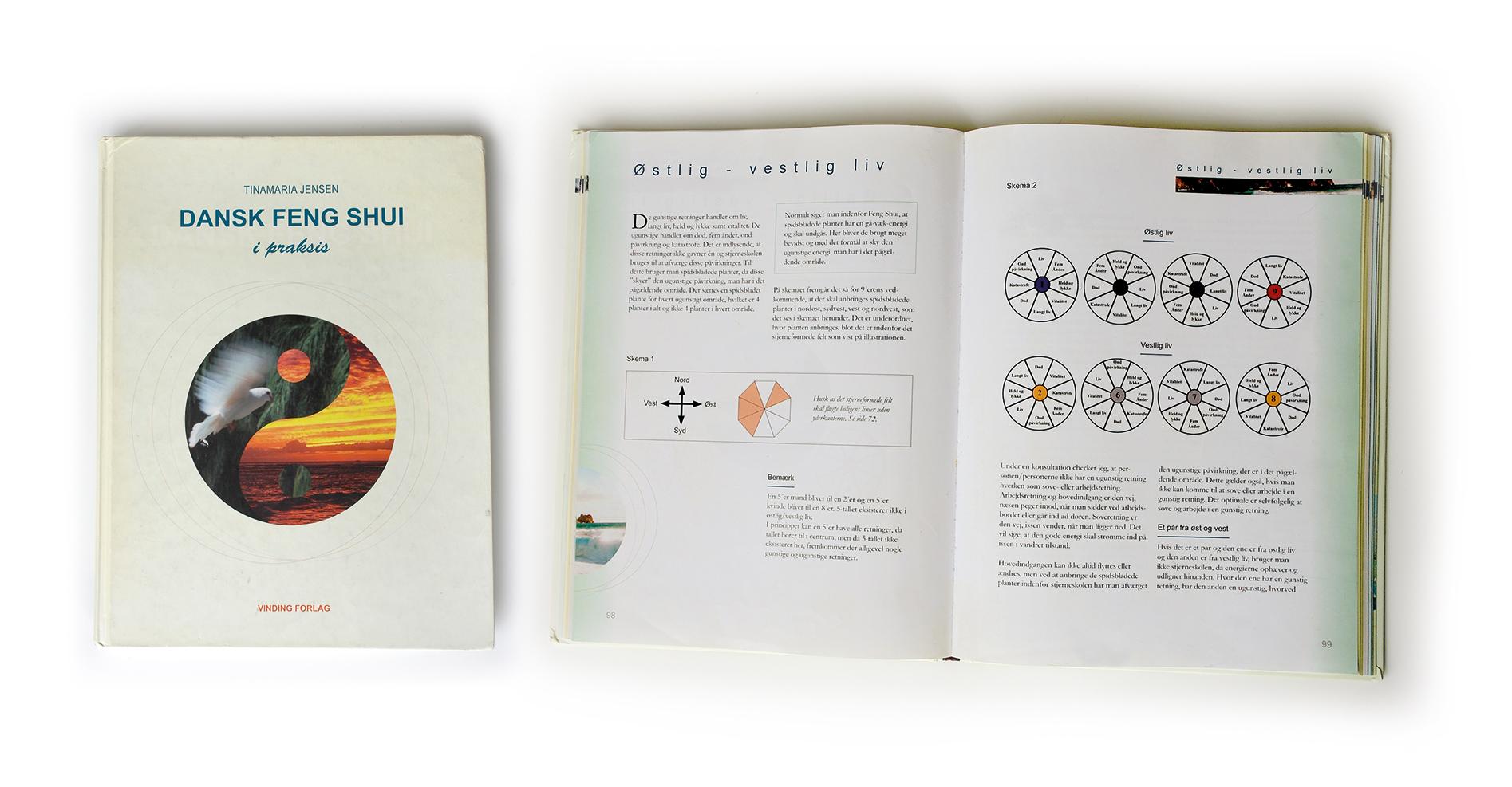 Bogen Dansk Feng Shui i Praksis Tinamaria Jensen design Stylize