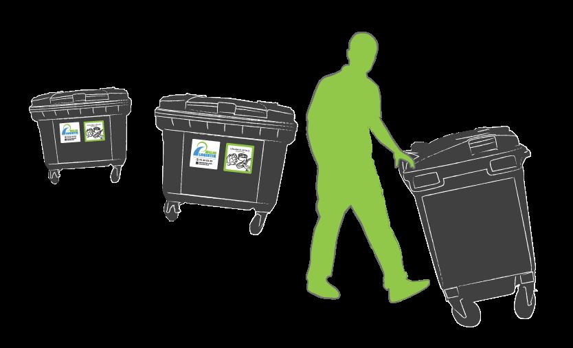Container illustration ikon