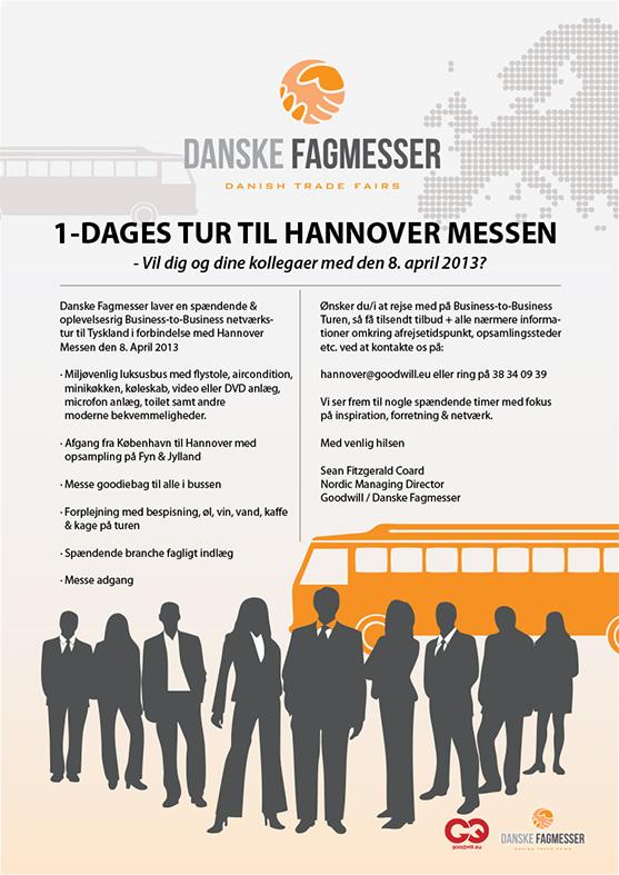 Hannover messe invitation Stylize Danske fagmesser